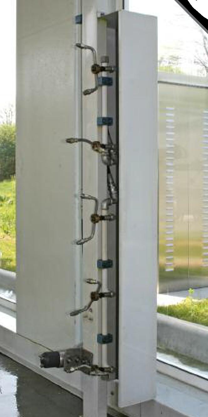 Wysokie ciśnienie po stronie z głowicami montowanymi z 3 rotatorami