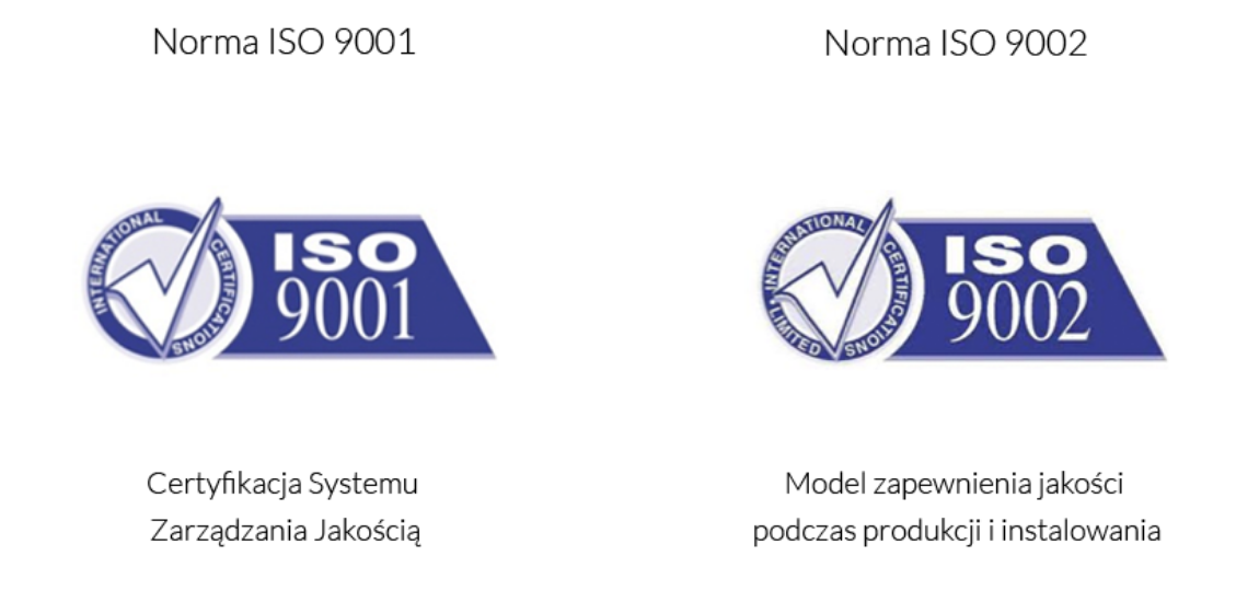 Norma ISO 9001 i Norma ISO 9002