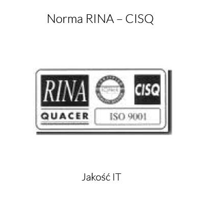 Norma RINA - CISQ